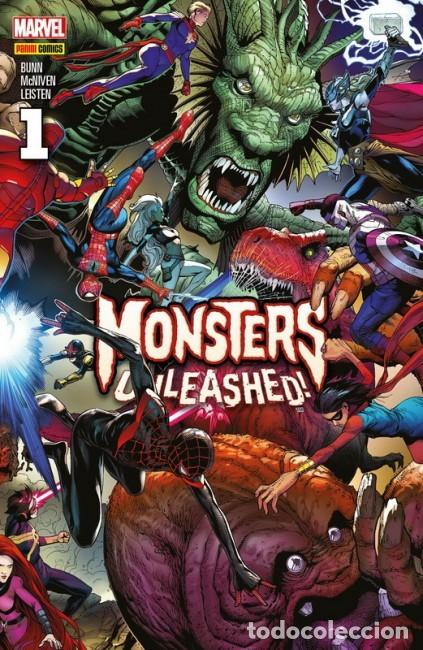 MONSTERS UNLEASHED! Nº 1 - PANINI - IMPECABLE (Tebeos y Comics - Panini - Marvel Comic)