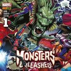 Cómics: MONSTERS UNLEASHED! Nº 1 - PANINI - IMPECABLE. Lote 147770214