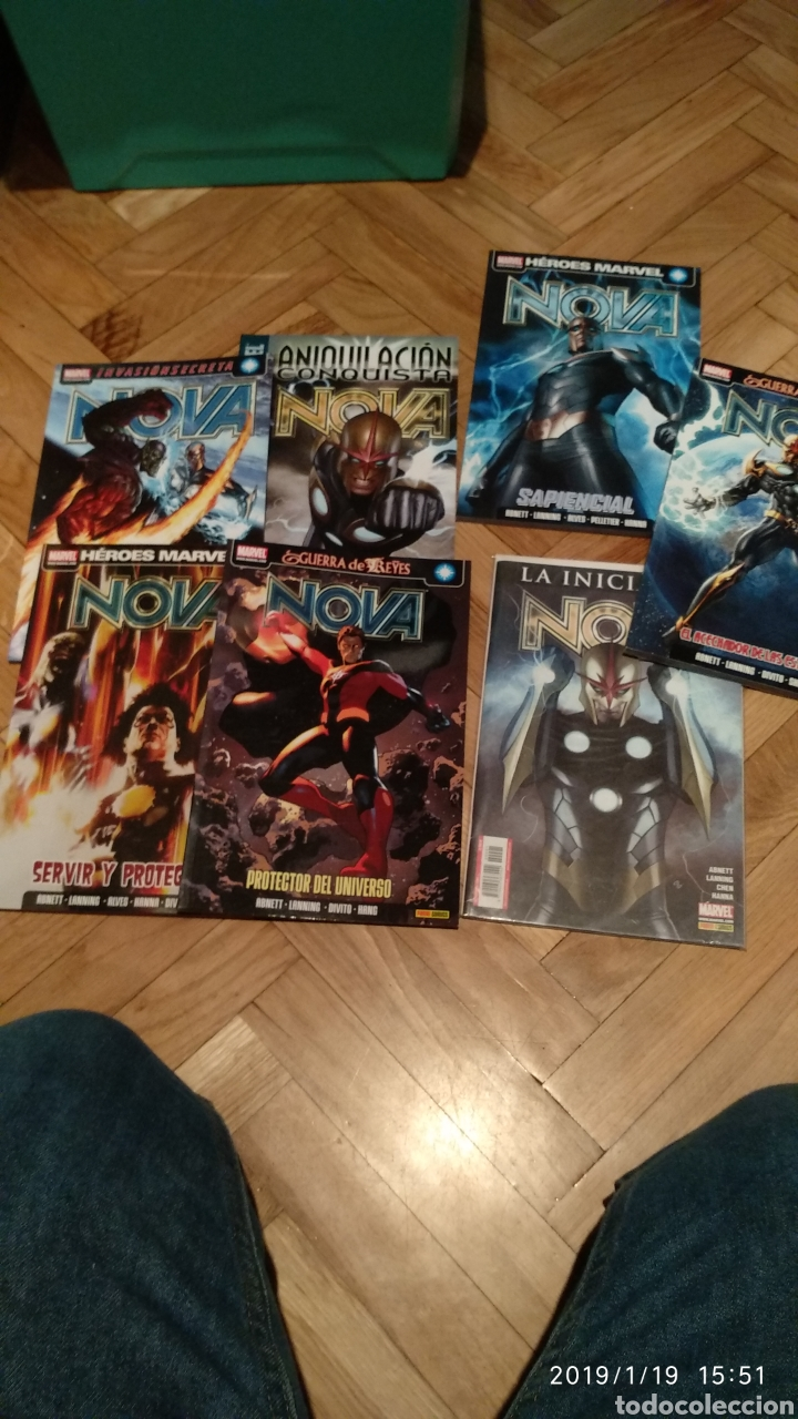 NOVA COMPLETA EN 6 TOMOS Y UNA GRAPA (Tebeos y Comics - Panini - Marvel Comic)