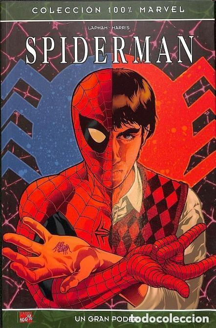 COL. 100% MARVEL - SPIDERMAN UN GRAN PODER - PANINI - IMPECABLE (Tebeos y Comics - Panini - Marvel Comic)