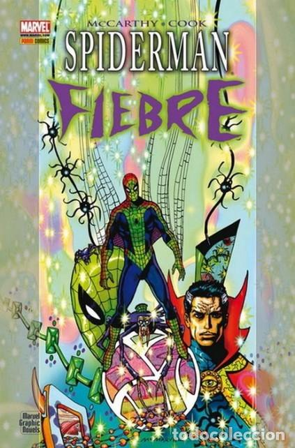 SPIDERMAN FIEBRE - MARVEL GRAPHIC NOVELS - PANINI - CARTONE - IMPECABLE (Tebeos y Comics - Panini - Marvel Comic)