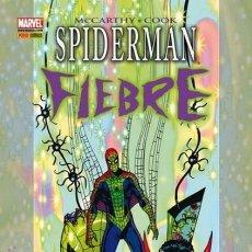 Cómics: SPIDERMAN FIEBRE - MARVEL GRAPHIC NOVELS - PANINI - CARTONE - IMPECABLE . Lote 147773926