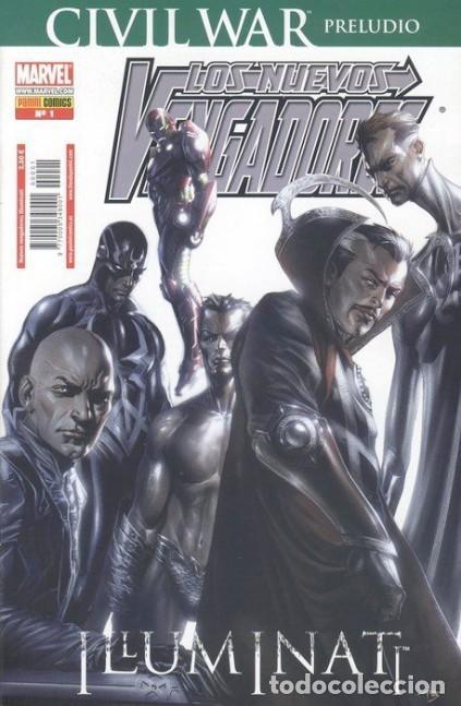 LOS NUEVOS VENGADORES ILLUMINATI. PRELUDIO CIVIL WAR - PANINI - IMPECABLE (Tebeos y Comics - Panini - Marvel Comic)