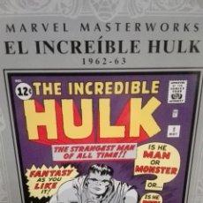 Cómics: EL INCREIBLE HULK. KIRBY/LEE. MARVEL MASTERWORKS.. Lote 147935269