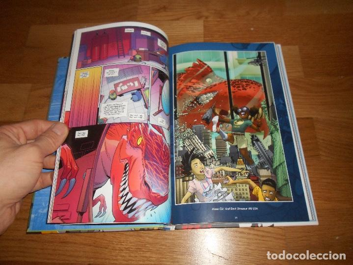 Cómics: 100% Marvel HC. Moon Girl y Dinosaurio Diabólico 2 Panini Cómics PERFECTO FONDO ALMACEN - Foto 5 - 147974818
