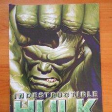 Cómics: EL INCREIBLE HULK - VOLUMEN 2 - VOL. 02 - Nº 30 - INDESTRUCTIBLE HULK - MARVEL - PANINI (BU). Lote 148155042