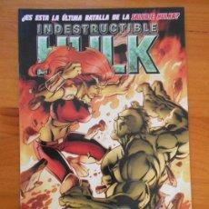 Cómics: EL INCREIBLE HULK - VOLUMEN 2 - VOL. 02 - Nº 36 - INDESTRUCTIBLE HULK - MARVEL - PANINI (BU). Lote 148157254