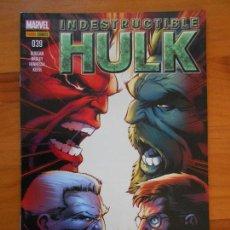 Cómics: EL INCREIBLE HULK - VOLUMEN 2 - VOL. 02 - Nº 39 - INDESTRUCTIBLE HULK - MARVEL - PANINI (BU). Lote 148158234