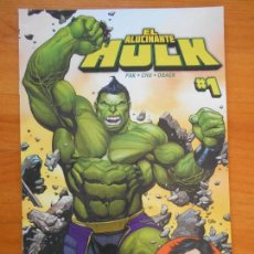 Cómics: EL INCREIBLE HULK - VOLUMEN 2 - VOL. 02 - Nº 46 - EL ALUCINANTE HULK - MARVEL - PANINI (BU). Lote 148161470