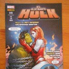 Cómics: EL INCREIBLE HULK - VOLUMEN 2 - VOL. 02 - Nº 49 - EL ALUCINANTE HULK - MARVEL - PANINI (BU). Lote 148162298