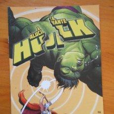 Cómics: EL INCREIBLE HULK - VOLUMEN 2 - VOL. 02 - Nº 51 - EL ALUCINANTE HULK - MARVEL - PANINI (BU). Lote 148162886
