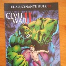 Cómics: EL INCREIBLE HULK - VOLUMEN 2 - VOL. 02 - Nº 52 - EL ALUCINANTE HULK - CIVIL WAR II - PANINI (BU). Lote 148163182