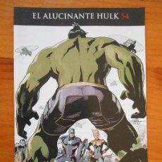 Cómics: EL INCREIBLE HULK - VOLUMEN 2 - VOL. 02 - Nº 54 - EL ALUCINANTE HULK - CIVIL WAR II - PANINI (BU). Lote 148163674