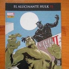 Cómics: EL INCREIBLE HULK - VOLUMEN 2 - VOL. 02 - Nº 55 - EL ALUCINANTE HULK - CIVIL WAR II - PANINI (BU). Lote 148163914