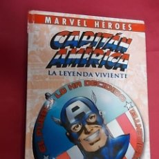 Cómics: MARVEL HEROES. CAPITÁN AMERICA . LA LEYENDA VIVIENTE . PANINI . Lote 148182122