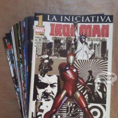 Cómics: IRON MAN DIRECTOR DE SHIELD 1 A 22 - LA INICIATIVA - PANINI - JMV. Lote 149364786