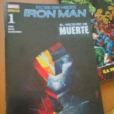 Cómics: VICTOR VON MUERTE IRON MAN #1. Lote 149667670