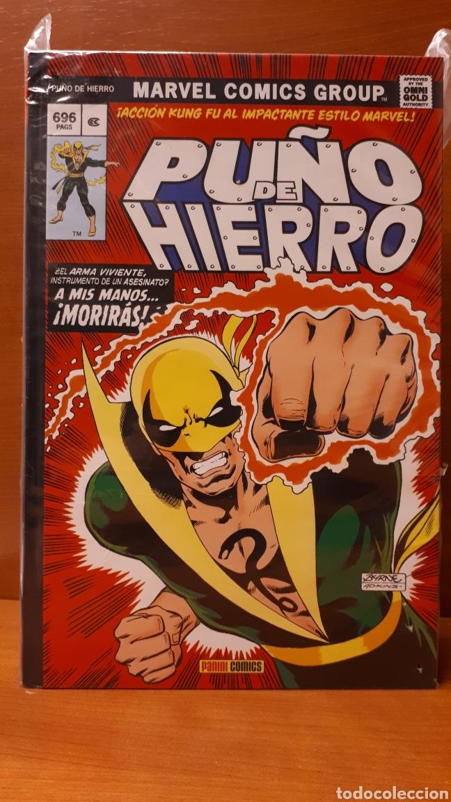 PUÑO DE HIERRO INTEGRAL MARVEL GOLD OMNIGOLD -IMPECABLE! (Tebeos y Comics - Panini - Marvel Comic)