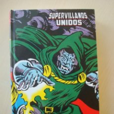Cómics: SUPERVILLANOS UNIDOS (MARVEL LIMITED EDITION) PANINI. Lote 149827166