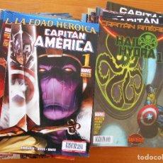 Cómics: CAPITAN AMERICA - VOLUMEN 8 - VOL. 8 - NUMEROS 1 A 57 - A FALTA DEL Nº 11 - MARVEL - PANINI (FV). Lote 150219934