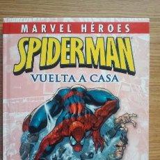 Cómics: SPIDERMAN. VUELTA A CASA. MARVEL COMICS. PANINI. MARVEL HÉROES. Lote 150624014