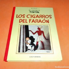 Cómics: TINTIN - LOS CIGARROS DEL FARAON - FACSIMIL - BLANCO Y NEGRO - VERSION ORIGINAL - CASTERMAN PANINI. Lote 150751894