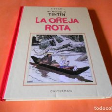 Cómics: TINTIN - LA OREJA ROTA - FACSIMIL - BLANCO Y NEGRO - VERSION ORIGINAL - CASTERMAN PANINI . Lote 150752446