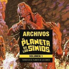 Cómics: EL PLANETA DE LOS SIMIOS. ARCHIVOS Nº 1 TERROR EN EL PLANETA DE LOS SIMIOS - PANINI - OFI15. Lote 151153922