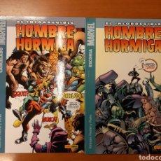 Cómics: EL INCORREGIBLE HOMBRE HORMIGA 1 Y 2 COMPLETA -IMPECABLES!. Lote 151355418