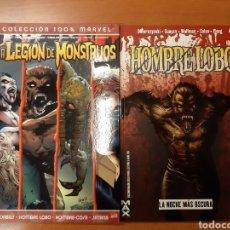Cómics: HOMBRE LOBO + LA LEGIÓN DE MONSTRUOS -IMPECABLES!. Lote 151361970