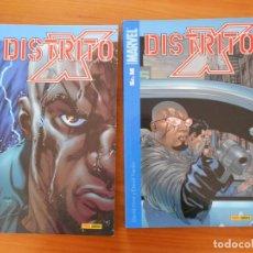 Cómics: DISTRITO X COMPLETA - 2 TOMOS - MARVEL - PANINI (CA). Lote 151365598