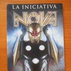 Cómics: LA INICIATIVA - NOVA - MARVEL - PANINI (FW). Lote 151380626