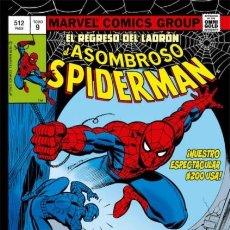 Cómics: MARVEL GOLD EL ASOMBROSO SPIDERMAN Nº 9 - PANINI - CARTONE - COMO NUEVO - OFI15. Lote 151380978