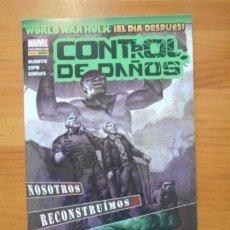 Cómics: WORLD WAR HULK - EL DÍA DESPUES: CONTROL DE DAÑOS - PANINI - DESCUENTO 20%¡¡¡. Lote 151474832