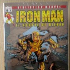 Cómics: BIBLIOTECA MARVEL: IRON MAN. PANINI. COLECCIÓN COMPLETA 28 NÚMEROS. 2005-2008. Lote 151487686