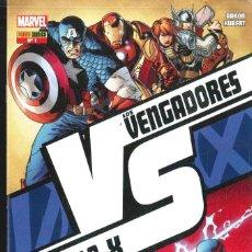 Cómics: LOS VENGADORES VS. LA PATRULLA X Nº 1-2-3-4. Lote 151497158
