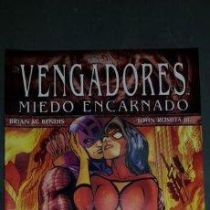 Cómics: LOS VENGADORES MIEDO ENCARNADO VOL.4 Nº 15 ESTADO MUY BUENO PANINI MIRE MIS OTROS ARTICULOS. Lote 151557802
