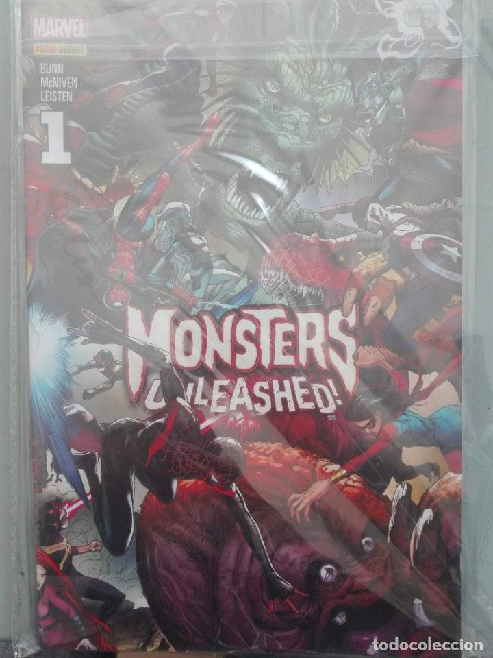 MONSTERS UNLEASHED COMPLETA 6 NUMEROS # (Tebeos y Comics - Panini - Marvel Comic)