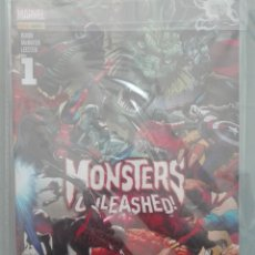 Cómics: MONSTERS UNLEASHED COMPLETA 6 NUMEROS #. Lote 152256878