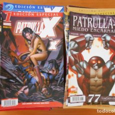 Cómics: PATRULLA X VOLUMEN 3 COMPLETA - 77 NUMEROS - EDICION ESPECIAL - VOL. 3 - MARVEL - PANINI (FS). Lote 153194686