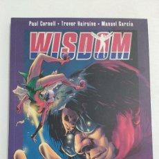 Cómics: WISDOM - LOS RUDIMENTOS DE LA SABIDURIA. TOMO ÚNICO. - 2008 - P.V.P. 12 € - PERFECTO ESTADO. Lote 153228046