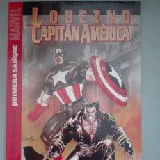 Cómics: HEROES MARVEL LOBEZNO CAPITAN AMÉRICA #. Lote 153347738