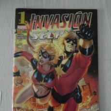 Cómics: INVASION SECRETA 1. MS. MARVEL. PANINI MARVEL. PERFECTO ESTADO. Lote 157226486