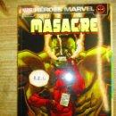 Cómics: MASACRE - DEADPOOL - HEROES MARVEL - OPERACION:ANIQUILACION - Nº 11 - PANINI MARVEL. Lote 154019670