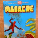 Cómics: MASACRE - DEADPOOL - HEROES MARVEL - PRESIDENTES MUERTOS - Nº 15 - PANINI MARVEL. Lote 154019978