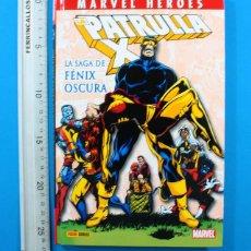 Cómics: MARVEL HEROES: PATRULLA X LA SAGA DE FENIX OSCURA, TAPA DURA PERFECTO ESTADO. Lote 154366366