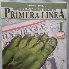 Cómics: WORLD WAR HULK: PRIMERA LÍNEA .Nº1. Lote 163984740