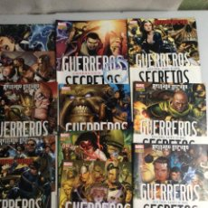 Cómics: GUERREROS SECRETOS , LOTE DE 12 EJEMPLARES. Lote 31123110