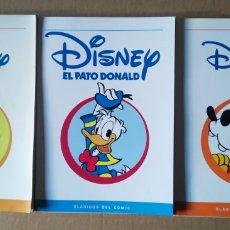 Cómics: LOTE CLÁSICOS DEL CÓMIC DISNEY. INCLUYE MICKEY MOUSE, EL PATO DONALD Y GOOFY (PANINI, 2004). Lote 154579622