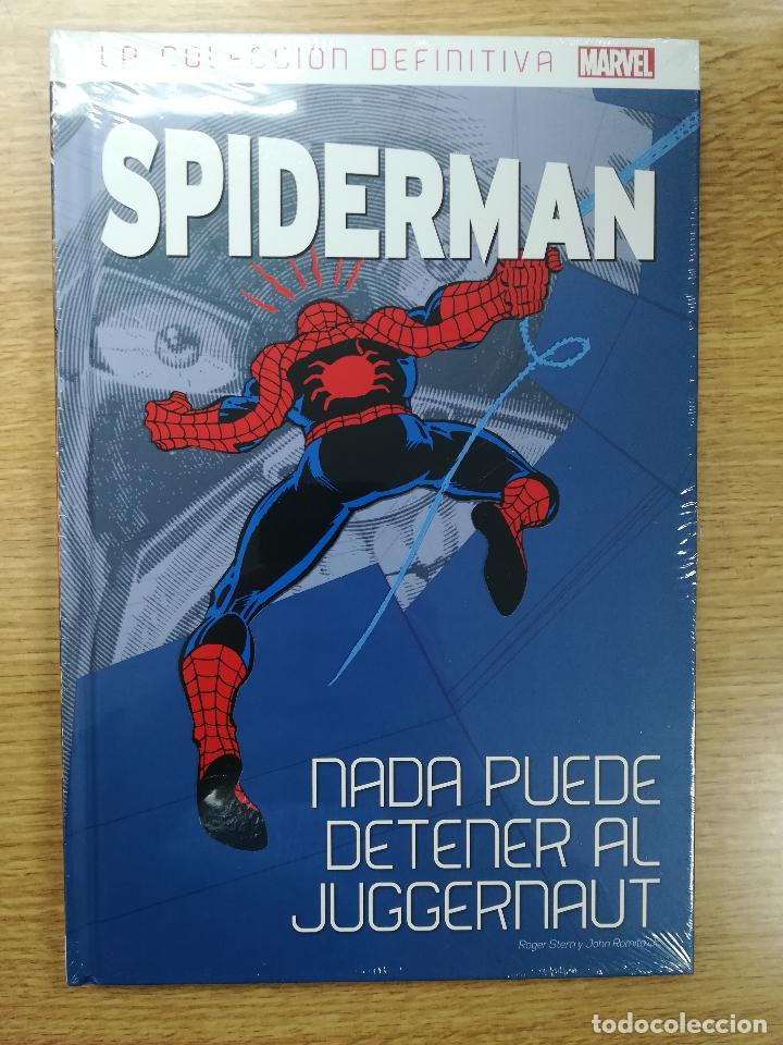 SPIDERMAN LA COLECCIÓN DEFINITIVA #9 NADA PUEDE DETENER AL JUGGERNAUT (Tebeos y Comics - Panini - Marvel Comic)
